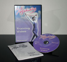 Alphabics Instructor DVD and Manual set for advanced instructors