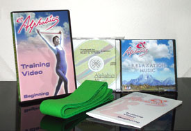 Alphabics Instructor DVD, CD, Manual and Band set